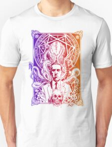 Cthulhu Howard Phillips Lovecraft HP historical society  T-Shirt