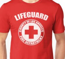 L.A. Co. Lifeguard - red Unisex T-Shirt