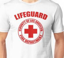 L.A. Co. Lifeguard - white Unisex T-Shirt