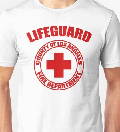 L.A. Co. Lifeguard - white Unisex T-Shirt