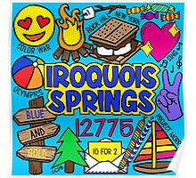 Iroquois Springs Poster