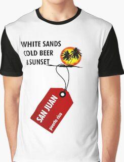 San Juan Sunset Graphic T-Shirt