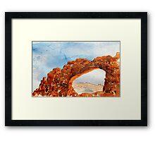 ARCHES-N.P.-UTAH  Framed Print