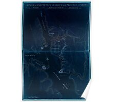 American Revolutionary War Era Maps 1750-1786 200 A plan of Portsmouth Harbour in the province of Virginia shewing the works erected by the British forces for Inverted Poster