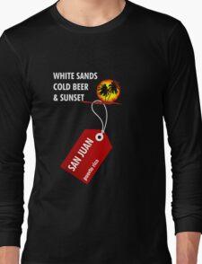 San Juan Sunset Beach Long Sleeve T-Shirt