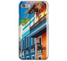 Colors od Old San Juan II iPhone Case/Skin