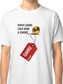 Oahu Hawaii Sunset Classic T-Shirt