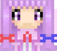 Patchouli Pixel Art Sticker
