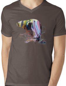 beaver Mens V-Neck T-Shirt