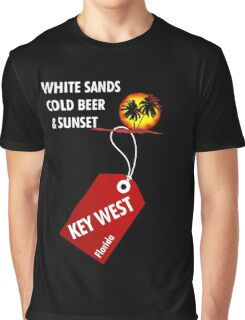 Key West Sunset Party Graphic T-Shirt