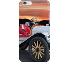 1924 Ford Model T Speedster 'Pass Side' iPhone Case/Skin