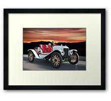 1924 Ford Model T Speedster 'Pass Side' Framed Print