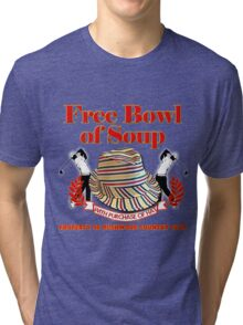 Caddyshack- Free bowl of soup with Hat Tri-blend T-Shirt