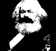 Karl Marx by Bundjum
