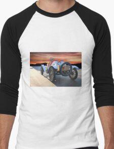 1924 Ford Model T Speedster 'Rear View' Men's Baseball ¾ T-Shirt