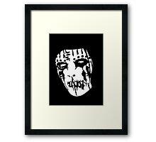 Joey Jordison's Mask Framed Print