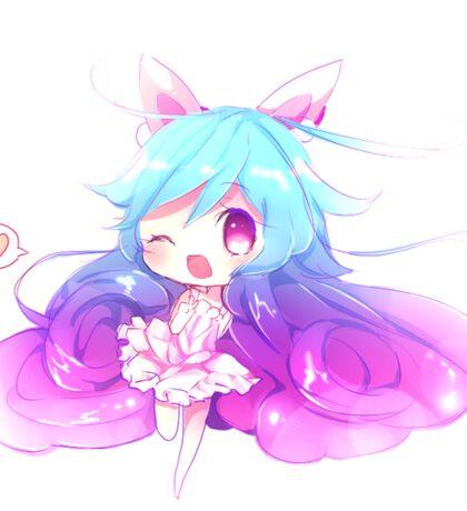 Cute Anime Bunny Chibi Sticker