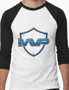 Team MVP logo Men's Baseball ¾ T-Shirt