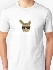 badass rabbit easter T-Shirt