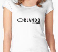 Orlando FL Women's Fitted Scoop T-Shirt