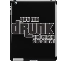enjoy show iPad Case/Skin