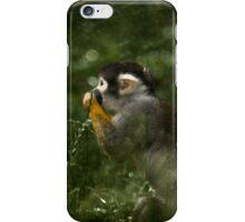 Black-capped squirrel monkey iPhone Case/Skin