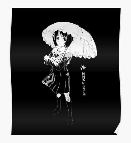 Misaki Nakahara - Welcome to the NHK Poster
