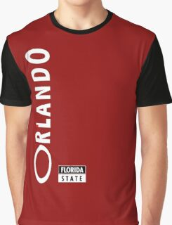 Orlando Florida State Graphic T-Shirt