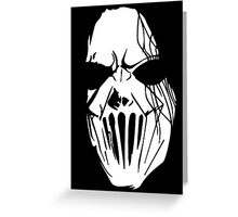 Mic Thompson's Mask Greeting Card