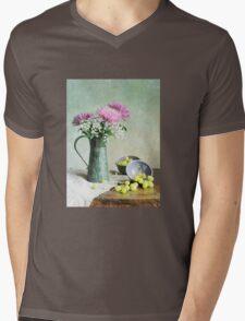 Pinks 'n Greens Mens V-Neck T-Shirt