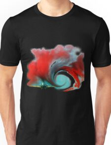 Airplane vortex Unisex T-Shirt