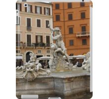 Fontana del Nettuno iPad Case/Skin