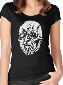 Sid Wilson's Mask Women's Fitted Scoop T-Shirt