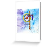 Genesis Lutheran Church Greeting Card