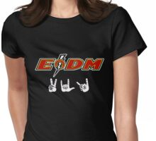 EODM - Peace Love Death Metal Womens Fitted T-Shirt