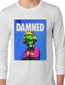 THE DAMNED - JUST CANT BE HAPPY TODAY Long Sleeve T-Shirt
