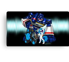The Sonic Duo Canvas Print