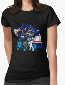 The Sonic Duo Womens Fitted T-Shirt