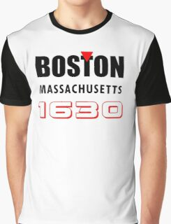 Boston  Graphic T-Shirt