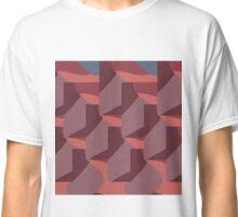 Facets Mauve Classic T-Shirt