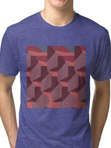 Facets Mauve Tri-blend T-Shirt