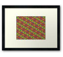 Primary & Secondary Color Design 2R Framed Print