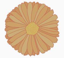 Orange Marigold Kids Tee