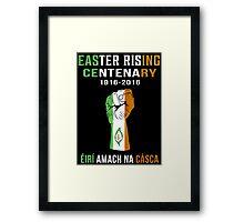 Easter Rising Centenary T Shirt 1916 - 2016 Framed Print