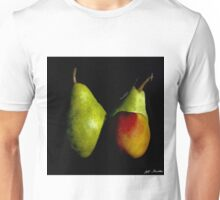 Pear and Nectarine Still Life Unisex T-Shirt