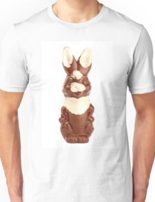 Chocolate Bunny Unisex T-Shirt