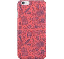 Popculture & Food Pattern iPhone Case/Skin