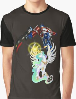 Celestia Heeds the Call of the Last Prime Graphic T-Shirt