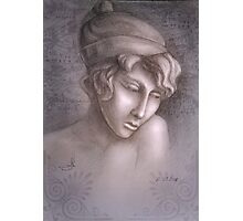 Greek woman Sapho Photographic Print