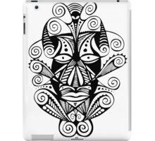 Swirly Mask iPad Case/Skin